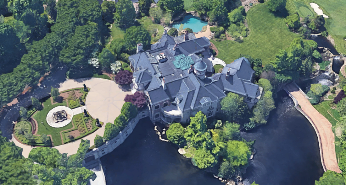 The House That Papa John S Built Homes Of The Rich