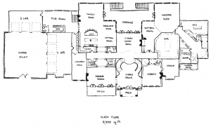 Mega Mansion Floor Plans