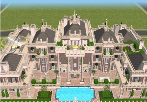 Sims Super Mansions   Homes of the Rich   The   Real Estate Blogsims Picture