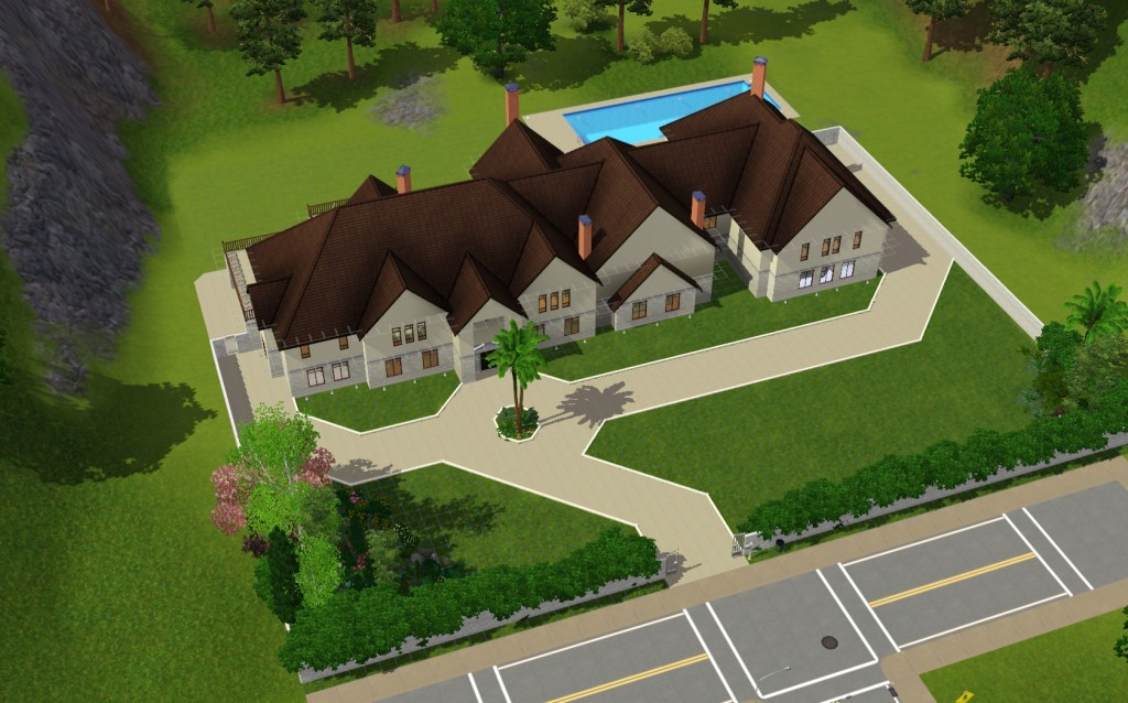 Sims 3 Mansions By A Homes Of The Rich Reader Homes Of