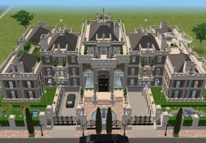 Sims 3 super mansions homes of the rich for Super mega mansions