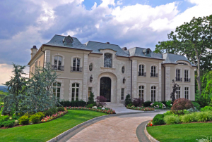 Limestone European Manor in Cresskill