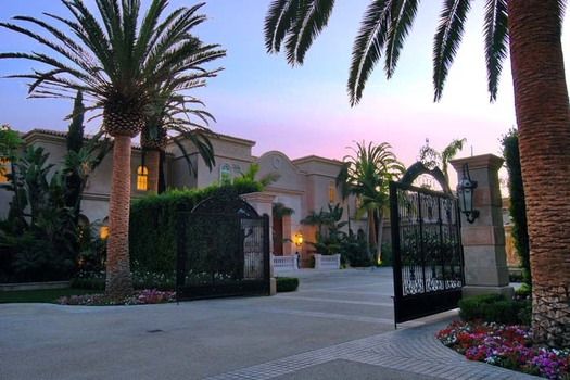 50,000 square foot Beverly Hills mega mansion back on the market