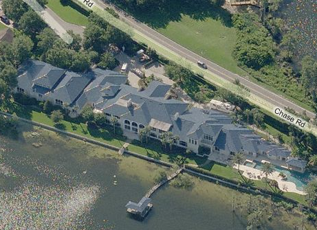 A Mega-Mansion Just Big Enough for Superman