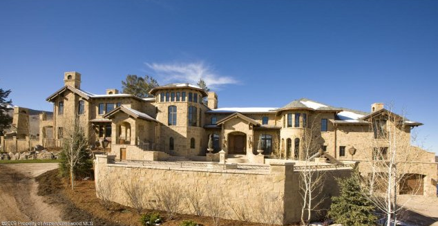 Most expensive home for sale in aspen homes of the rich for Celebrity homes in aspen