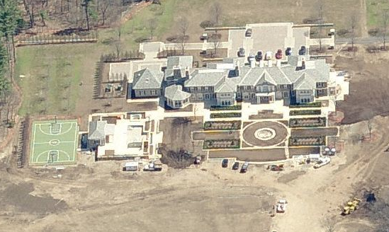 Jim Pallotta's Mega Mansion Visible in Bird's Eye View