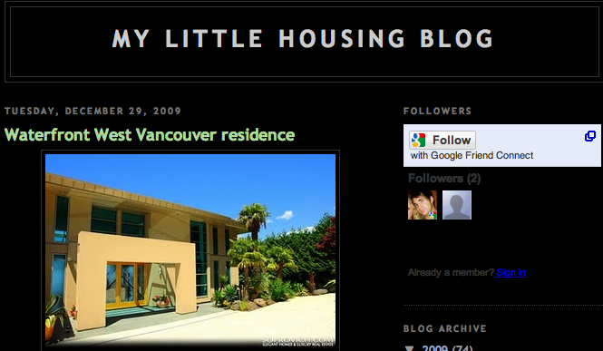 Awesome New Real Estate Blog!