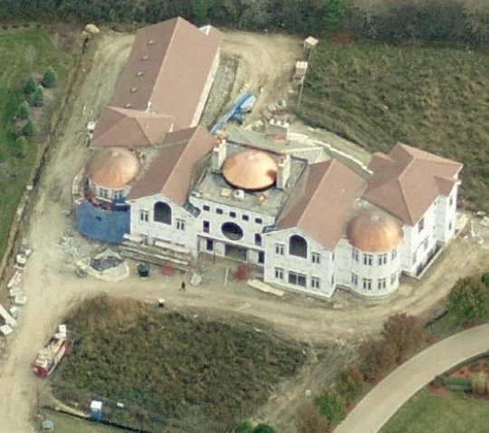 A Look At Some Huge Mansions Being Built In Barrington