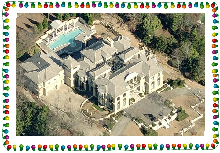 Homes of the Rich Holiday Contest Winner