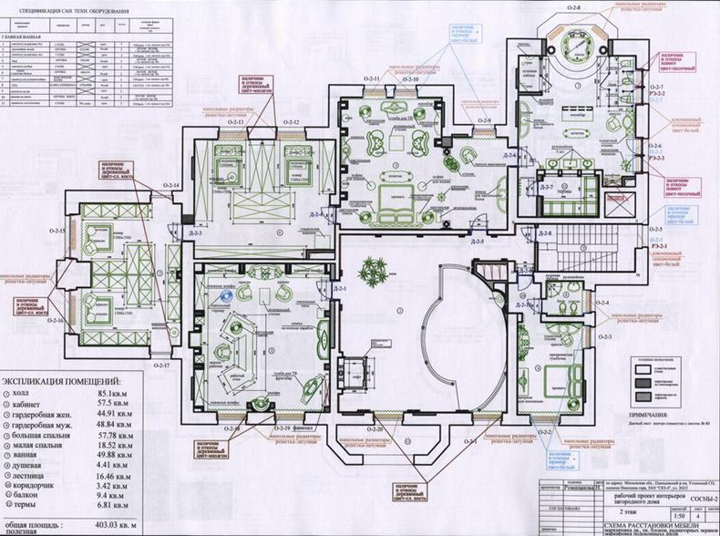 Magnificent moscow chateau homes of the rich for Homes of the rich floor plans