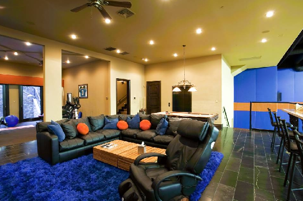 Las vegas mansion with incredible indoor basketball court for Indoor basketball court for sale
