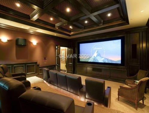 Mansion with indoor basketball court  Las Vegas Mansion with Incredible Indoor Basketball Court | Homes ...