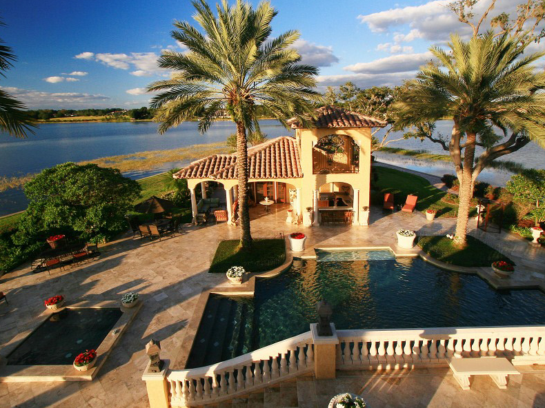 Central florida s most beautiful waterfront estate for Most beautiful homes in florida