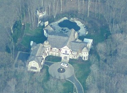 Saddle River, NJ Mansions Now Visible In Bird's Eye View