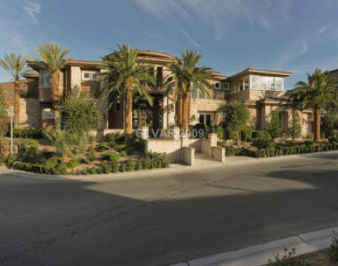 Bank Owned Luxury Mansion In Las Vegas Homes Of The Rich
