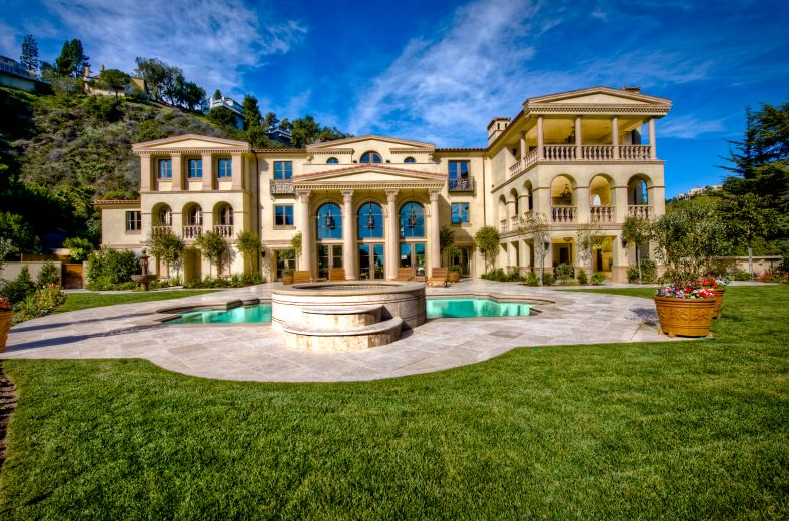 Palatial Bel Air Estate Homes Of The Rich