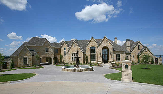Waterfront mansion in texas homes of the rich the 1 real estate