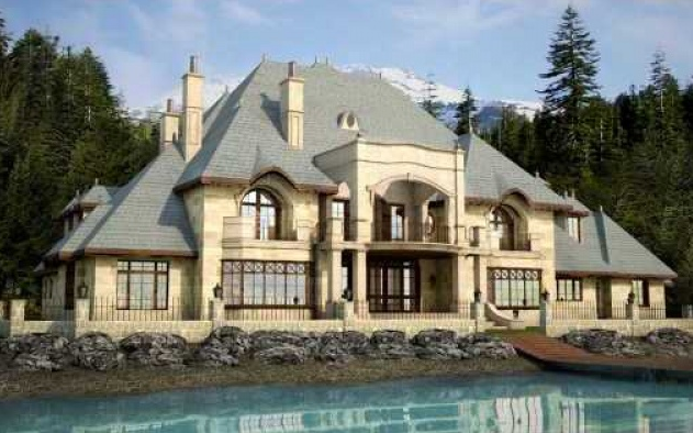 $23 Million Lakefront Mansion To Be Built In Whistler, British Columbia