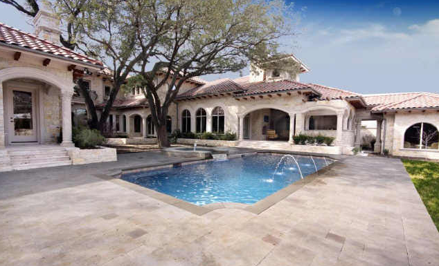 Mediterranean Manor in Dallas