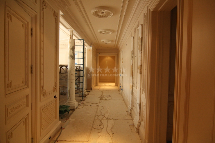 Progress of Beaux- Arts Style Mansion in Beverly Hills