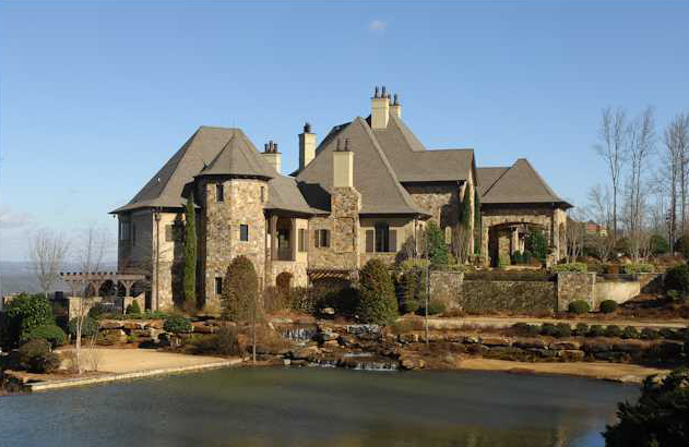Alabama mansion in prestigious greystone crest homes of for House builders in alabama