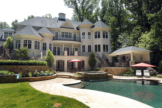 Potomac Entertainer S Mansion Homes Of The Rich