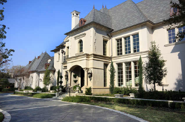 French Country Mansion In Dallas Homes Of The Rich The