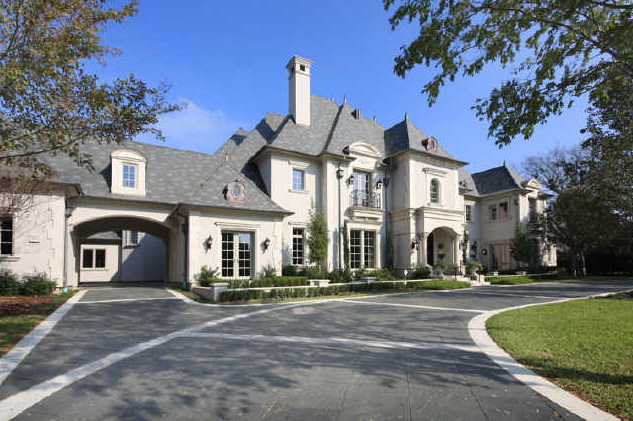 French country mansion in dallas homes of the rich the for Mansions in dallas tx