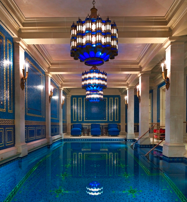 The Fanciest Indoor Residential Swimming Pools Homes Of