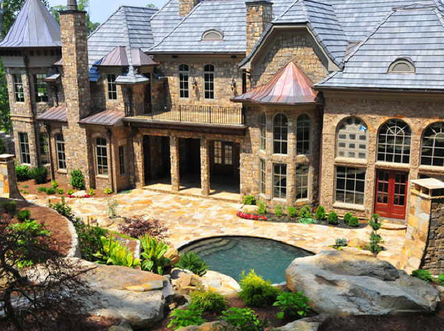 Exquisite French Chateau In Sandy Springs Homes Of The Rich