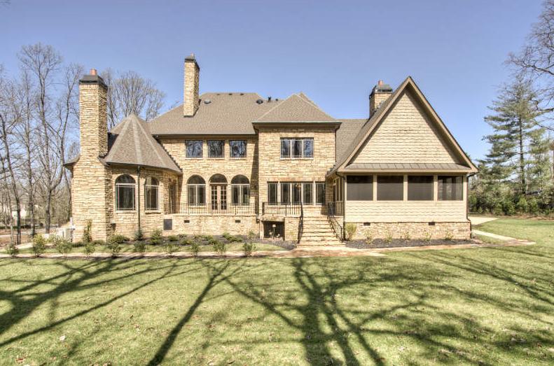 Newly Built Stone Estate in Atlanta