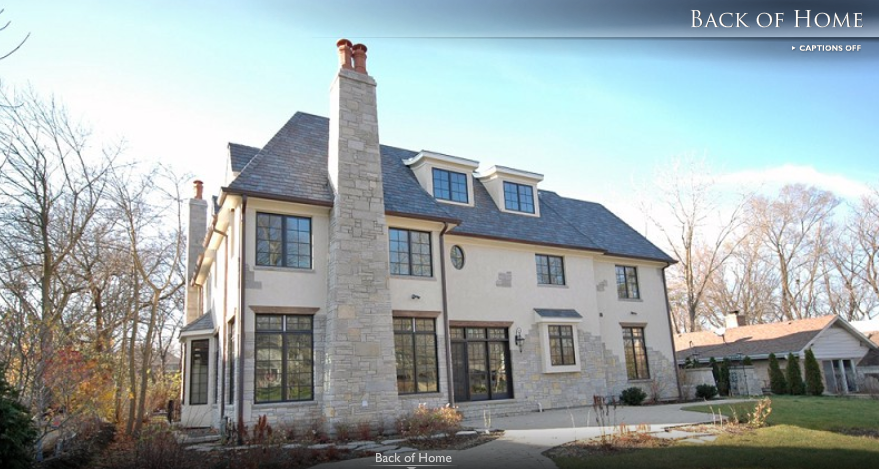 French Country Manor in Hinsdale