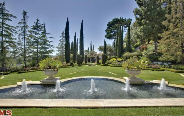 Exquisite Bel Air Mansion with Park Like Grounds and Gardens