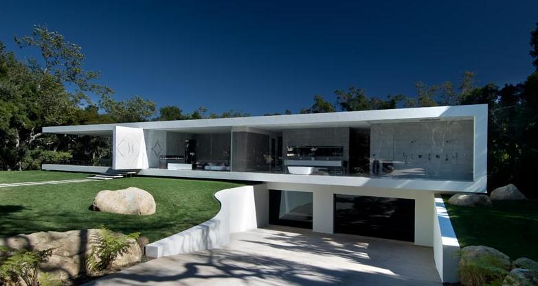 The Glass Pavilion In Montecito A Modern Architectural