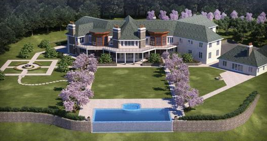 French Renaissance Estate With Breathtaking Views Of The