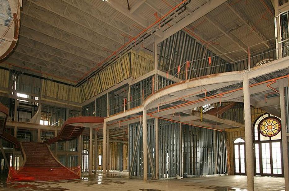 Omg Interior Construction Pics Of David Siegel S Mega