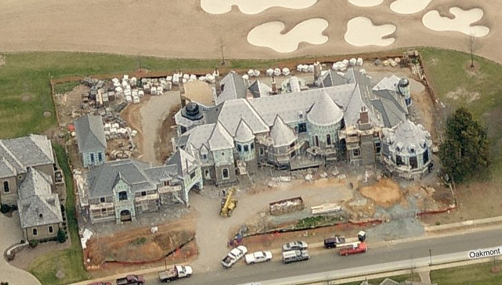 Waxhaw Nc Mansion Being Built Homes Of The Rich