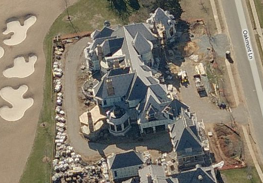 Waxhaw, NC Mansion Being Built