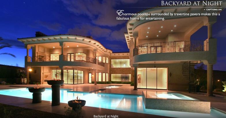 Lavish Las Vegas Mansion Homes Of The Rich