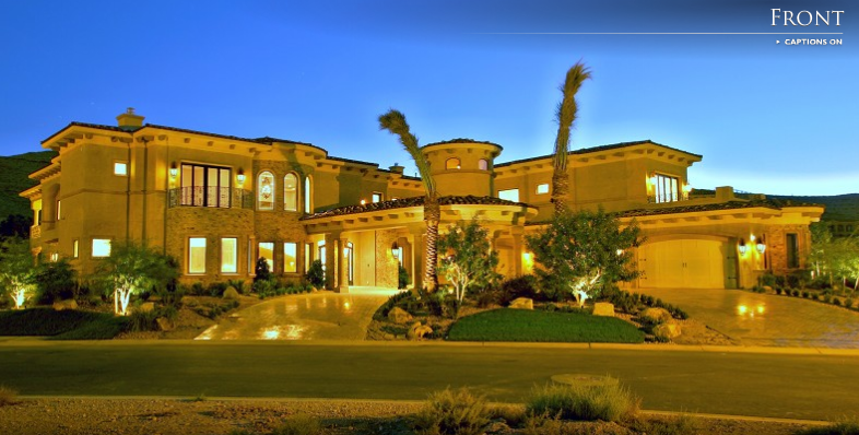 Lavish las vegas mansion homes of the rich for Mansions for sale las vegas