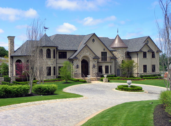 custom mansion in colts neck homes of the rich