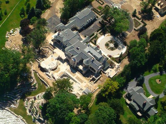 Alon Kaufman's 40,000 Square Foot Michigan Mega-Mansion