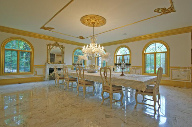 Mediterranean Style Mansion In Florham Park Homes Of The