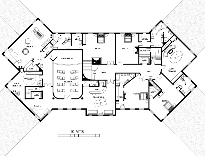 A homes of the rich reader s super mansion floor plans for Rich house plans
