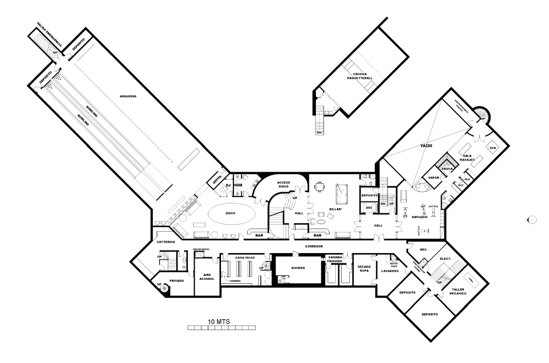 A homes of the rich reader s super mansion floor plans Bowling alley floor plans