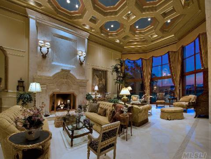 A Look At Grand Great Rooms Homes Of The Rich