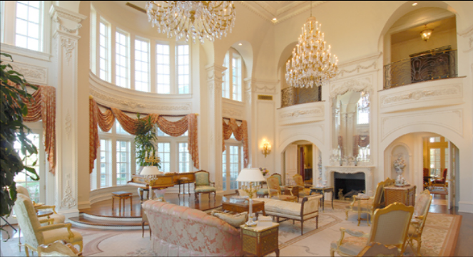 extraordinary luxury mansion living room | A Look At GRAND Great Rooms | Homes of the Rich