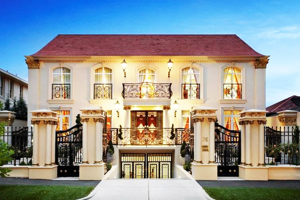 Opulent mansion in australia homes of the rich
