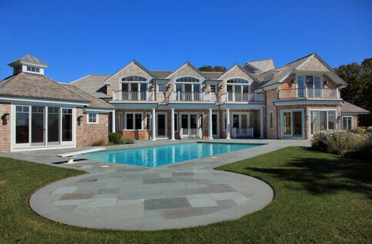 Waterfront Shingle Estate In Osterville, MA