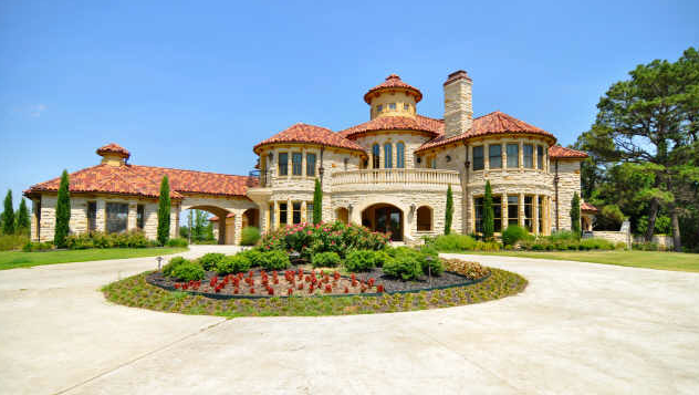 Tuscan Inspired Mansion In Colleyville Tx Homes Of The Rich